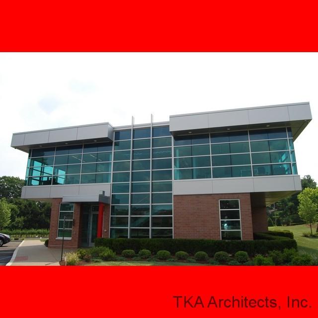 Ganassi Office Building. Front Elevation